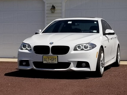 Kevs 2014 550i front angel eyes 001